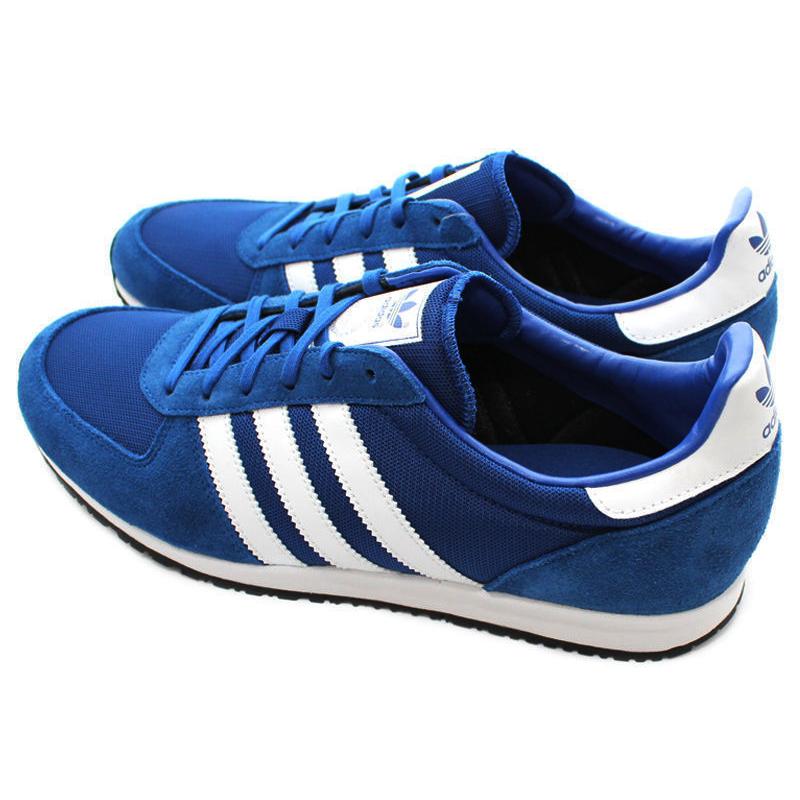 on sale d9500 838f2 adidas adistar racer azul