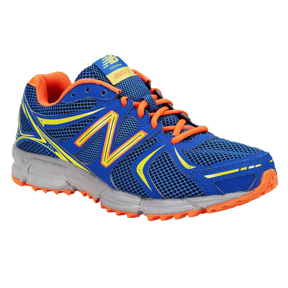 new balance running hombre azules