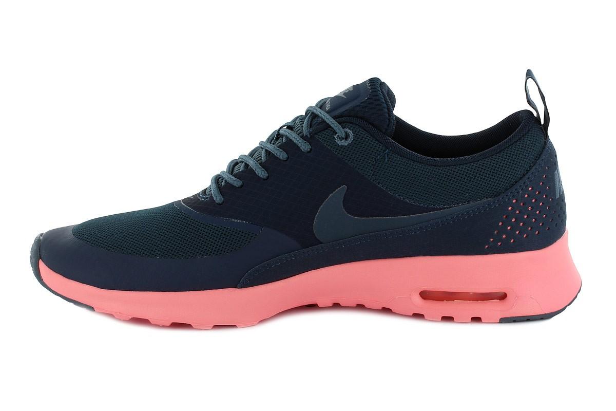 ... Zapatillas Nike Air Max Thea para Mujer - Negro con Melon - Interior ...