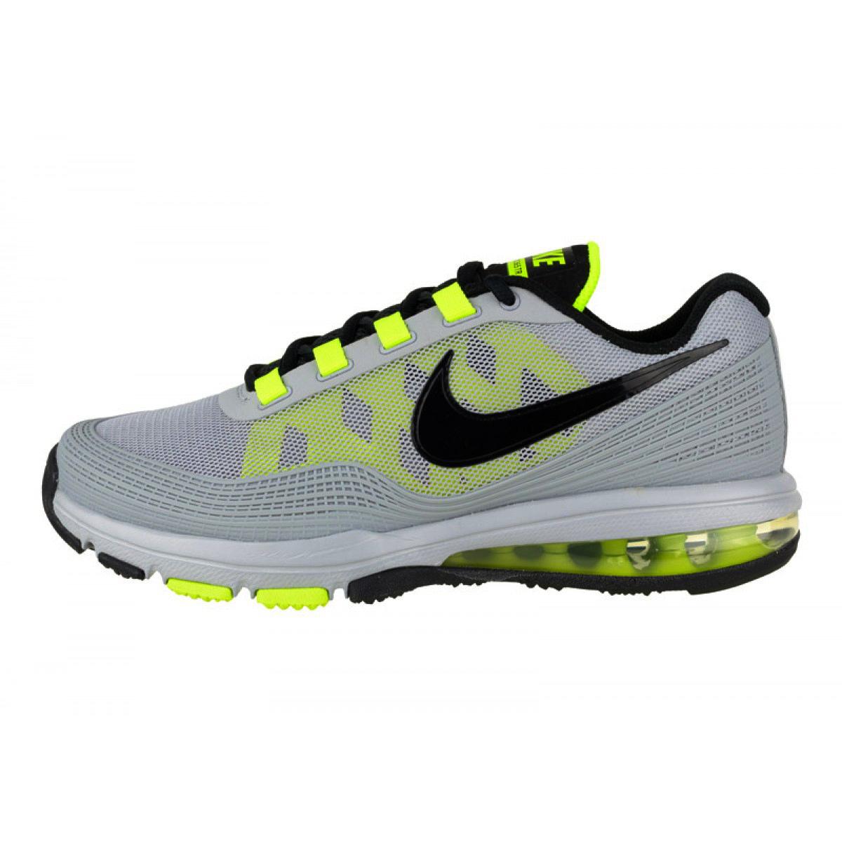 Zapatillas Nike Gris Y Amarillo
