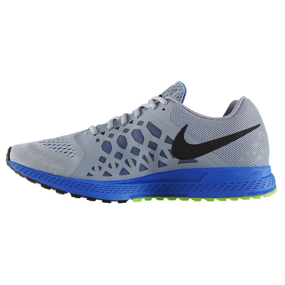 Zapatillas Nike Gris Con Celeste