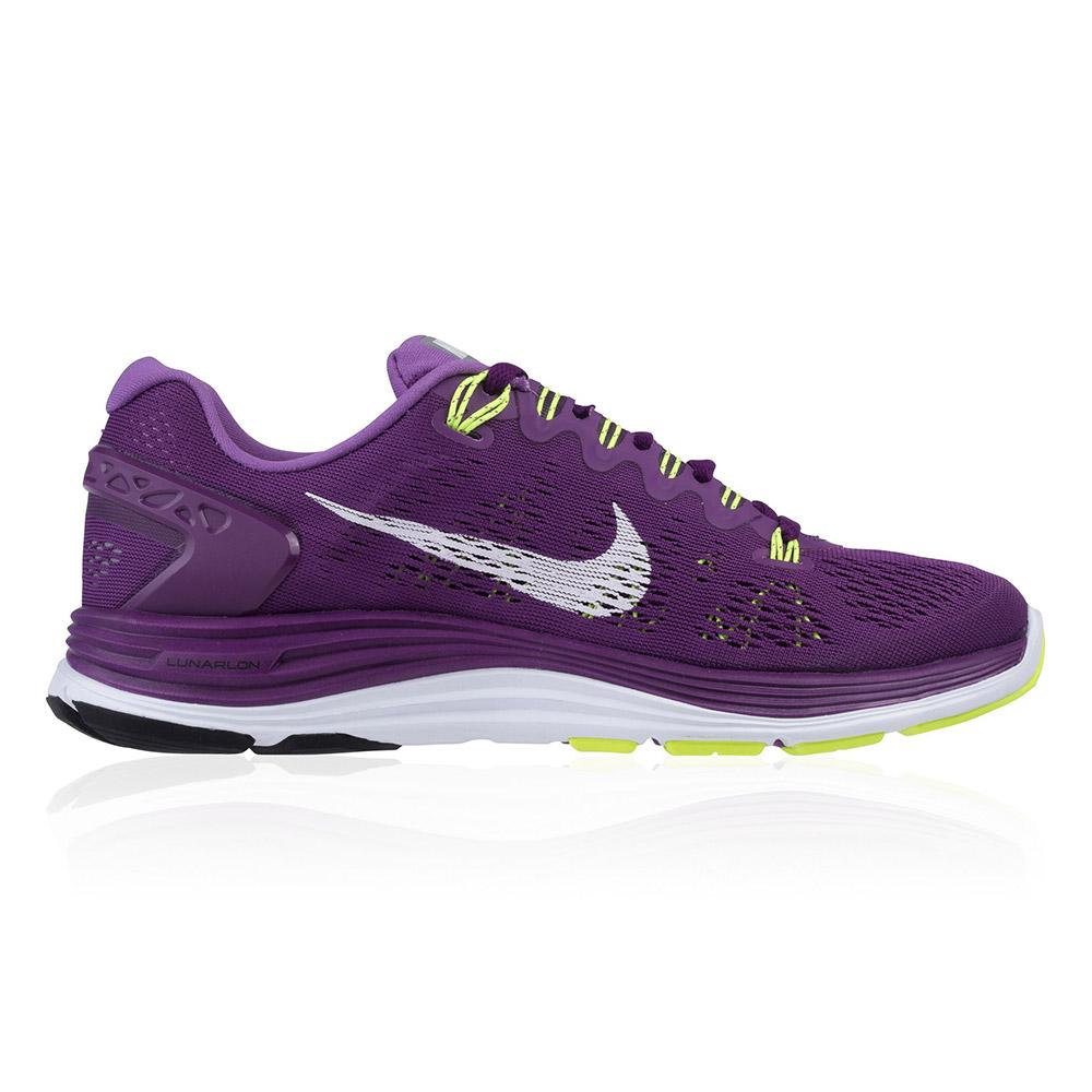d7bf05b876c2 Zapatillas Nike LunarGlide+ 5 - Mujer - Morado y Blanco - Interior .