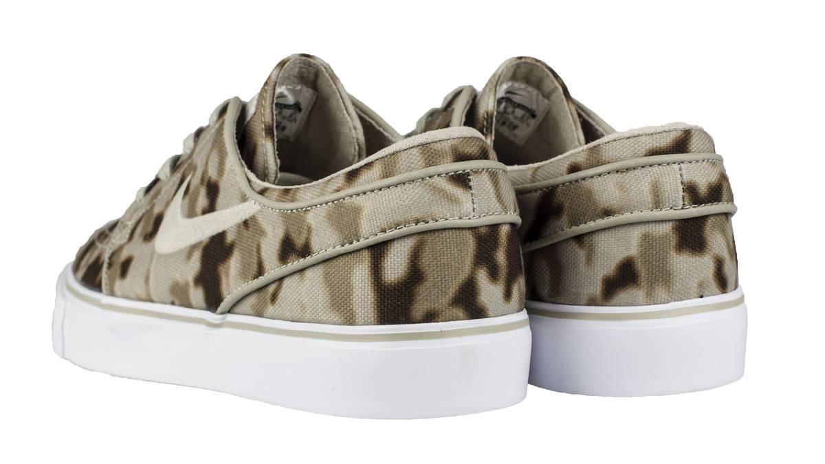 Nike - Zapatillas Zoom SB Stefan Janoski Camo - Hombre - Caqui y Beige