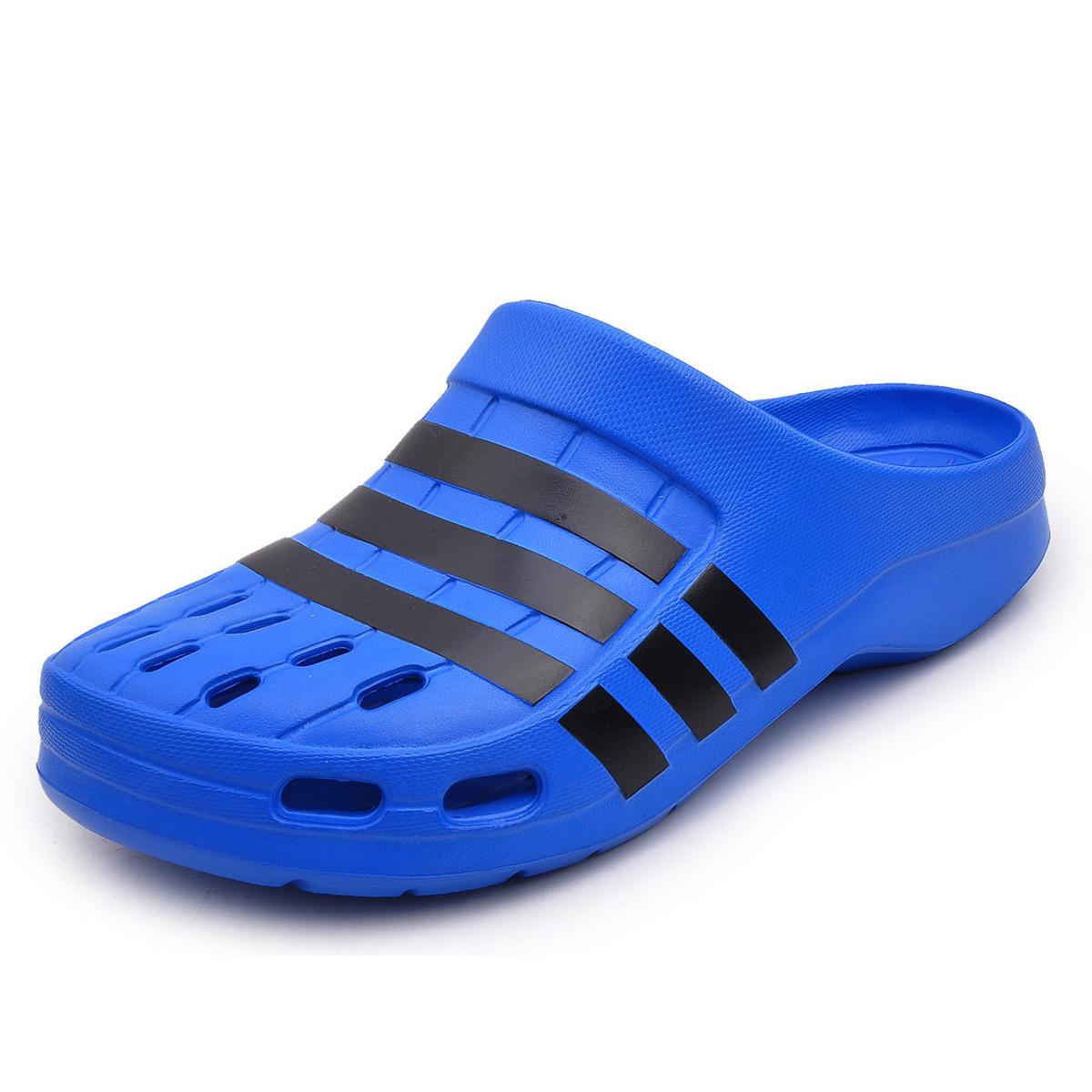 Proporcional encuentro Anillo duro  sandalia adidas azul