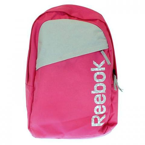 Mochila Reebok BTS Logo - Niña - Rosado - Frontal