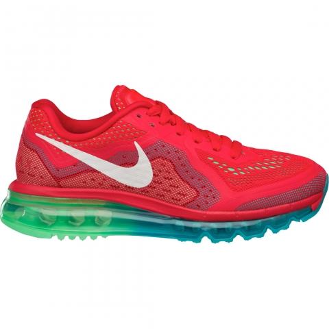 Zapatillas Nike Air Max 2014 - Mujer - Rojo y Verde