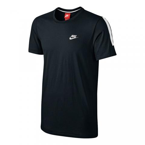Polo Nike Glory Top Logo - Para Hombre - Negro Y Blanco