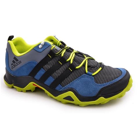 Zapatillas Adidas Brushwood Mesh - Hombre - Azul y Amarillo M19003