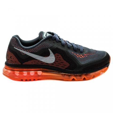 Zapatillas Nike Air Max 2014 - Hombre - Negro y Naranja