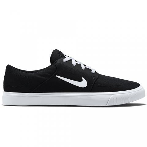 Zapatillas Nike SB Portmore Canvas - Hombre - Negro