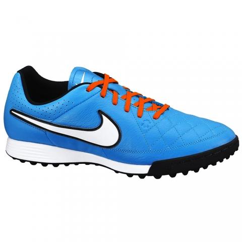 Zapatillas Nike Tiempo Genio Leather TF - Hombre - Turquesa