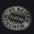 Camiseta Adidas FC Bayern München - Hombre - Negro - Logo del Equipo
