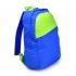 Mochila Reebok BTS Logo - Azul y Verde - Diagonal